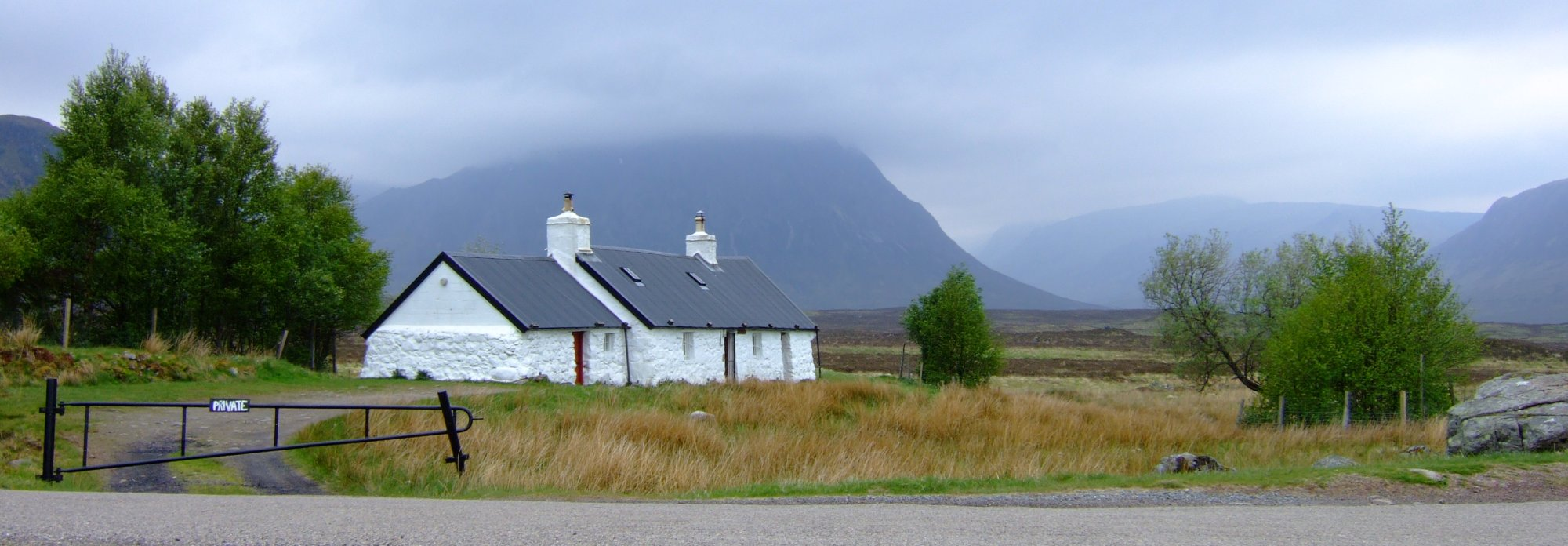 Every WHW journal has to have a picture of Blackrock Cottage - it's compulsory isn't it?