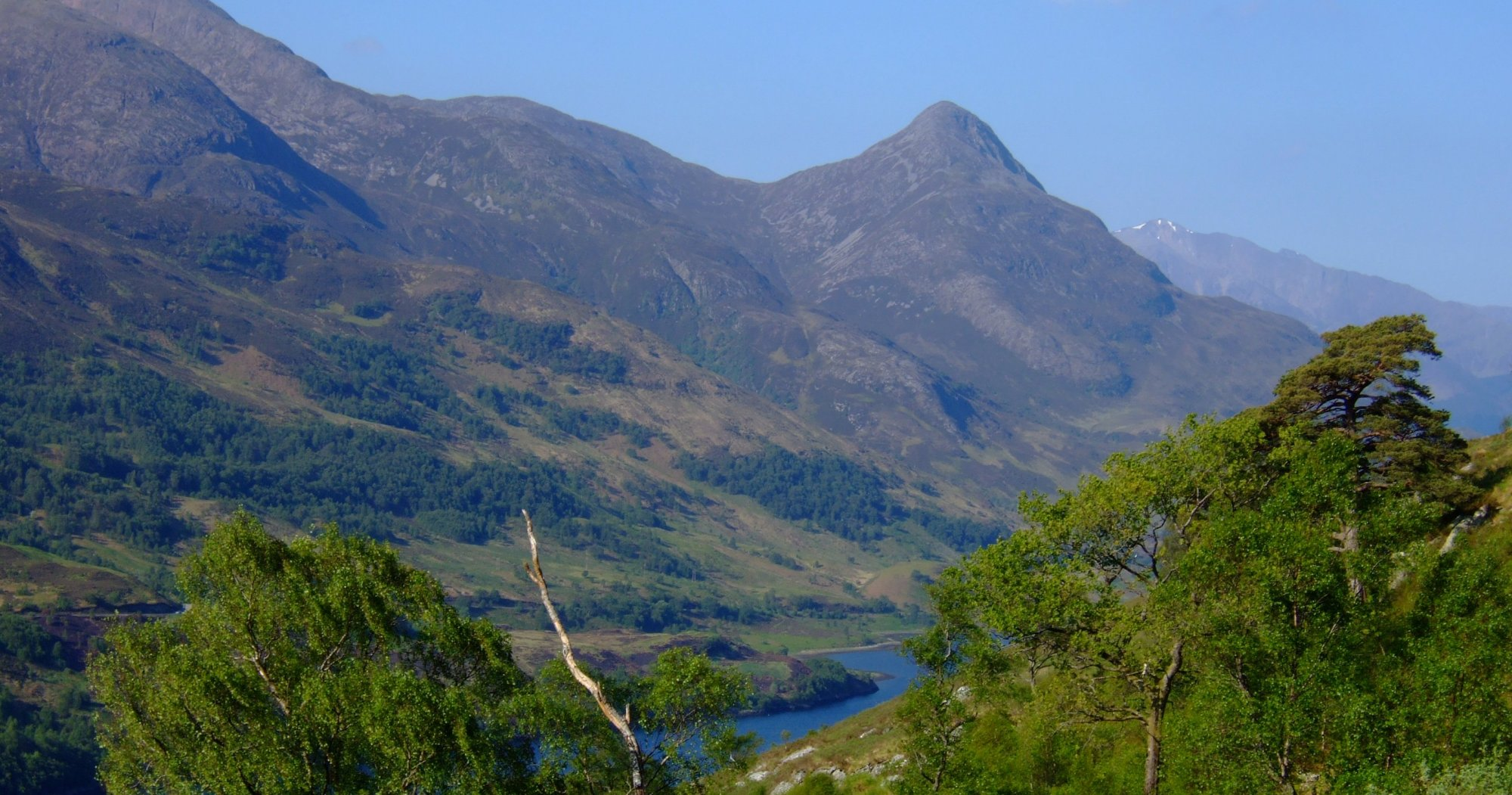 Loch Leven with the Pap of Glencoe looking like a proper mountain