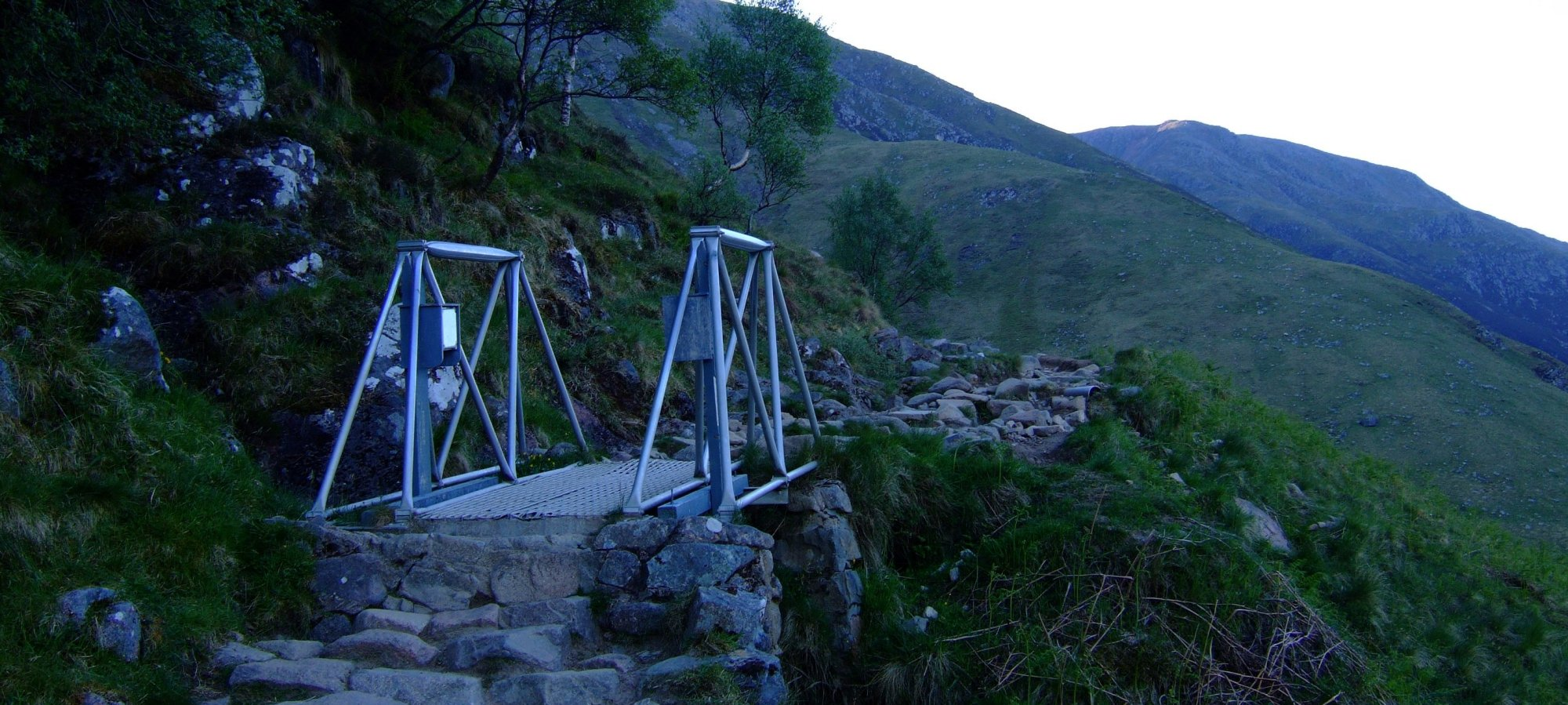 Bridge on the path to Ben Nevis