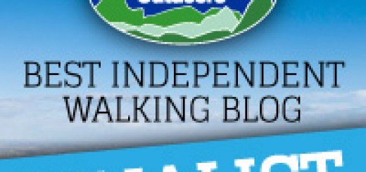 Go Outdoors - Best Independent Walking Blog Award