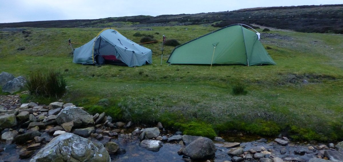Wildcamp on the Herriot Way