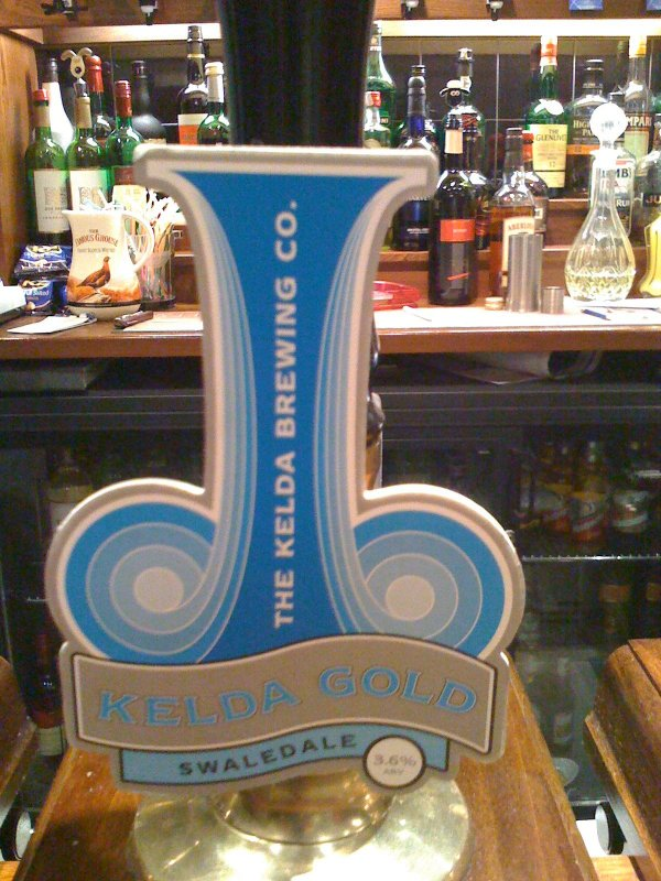 Kelda Beer in the Keld Lodge