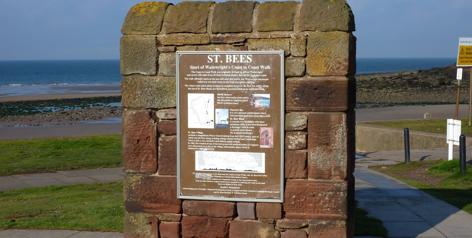 My final destination, in St. Bees