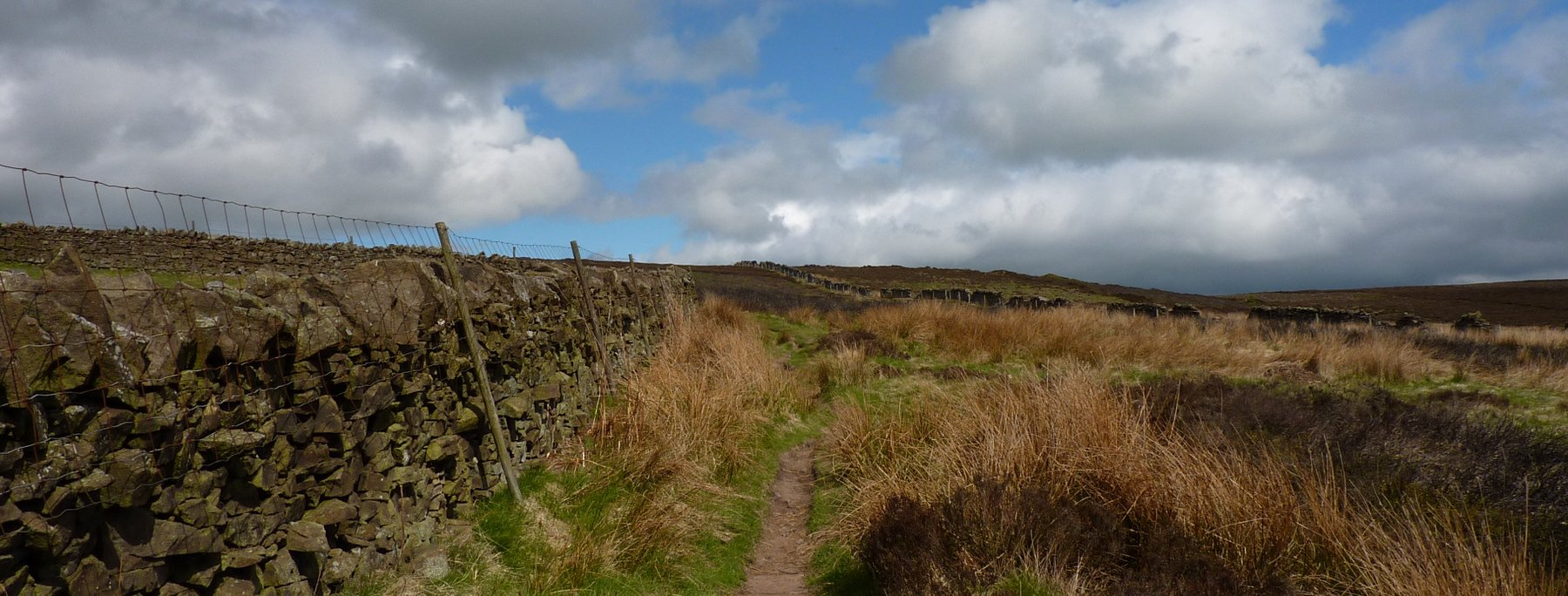 Moorland section upto Pinhaw Beacon