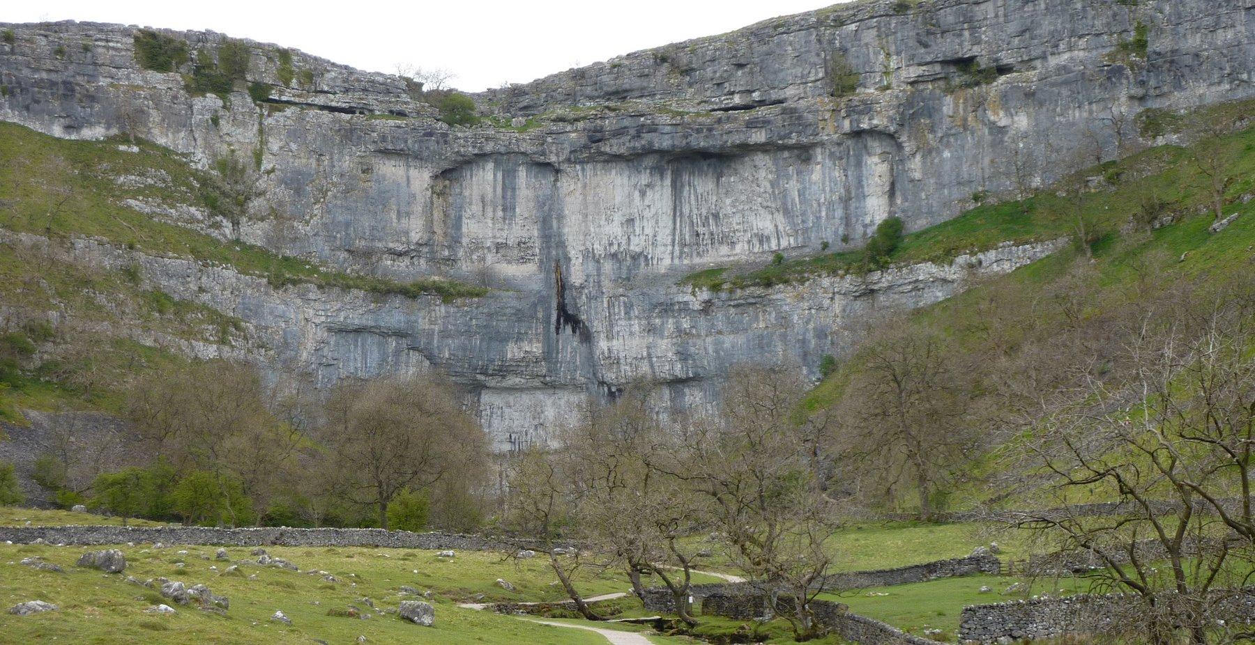 Malham Cove - seriously impressive limestone amphitheatre