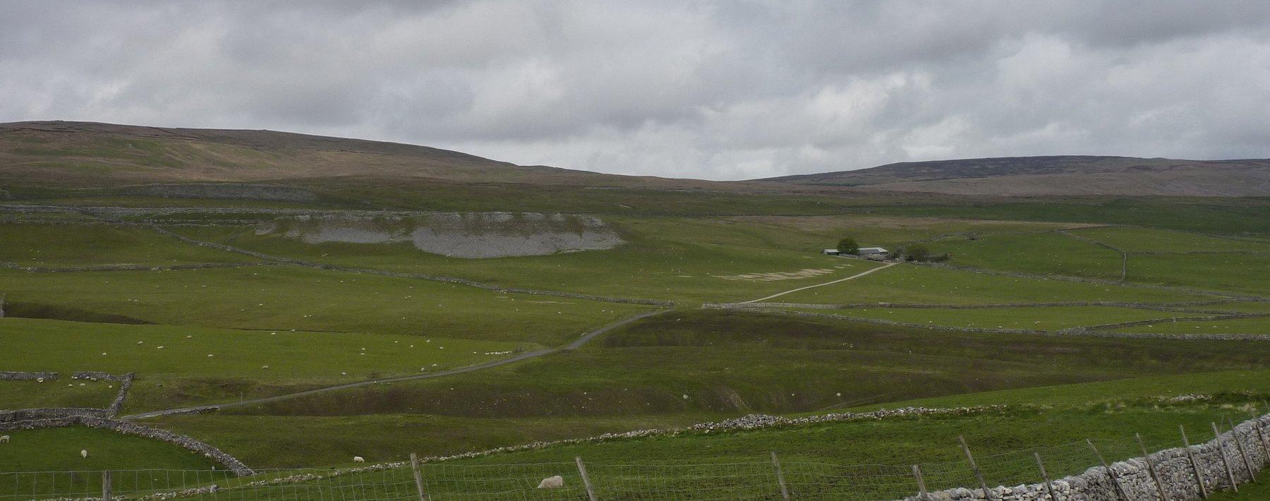 Approaching Tenant Gill Farm