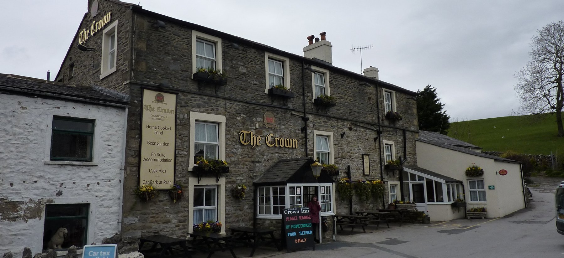 The Crown in Horton