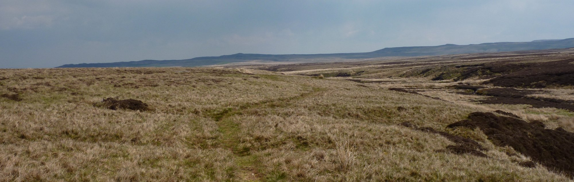 Views of Sleightholme Moor - a great place, unless it's rained in the past 3 months