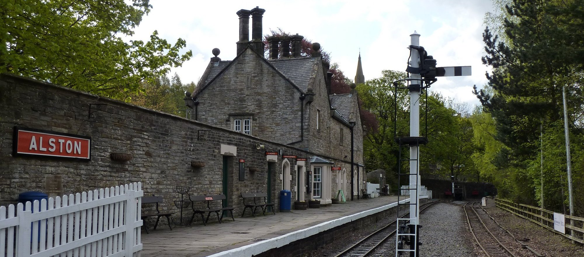 Alston Station on the South Tyne Trail