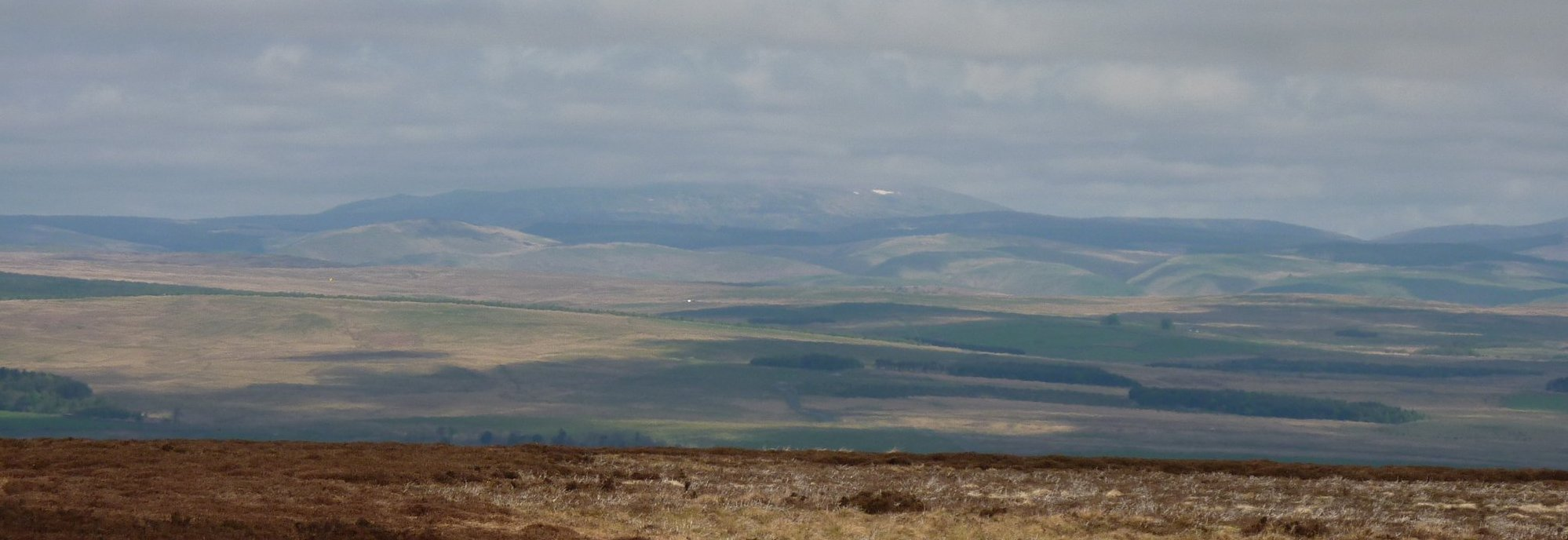 30 miles walking distant - The Cheviot