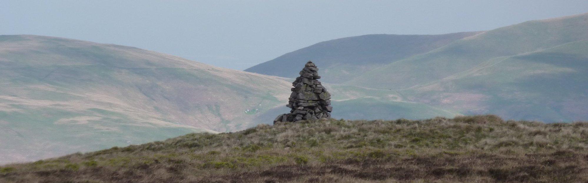 Cairn near Windy Gyle
