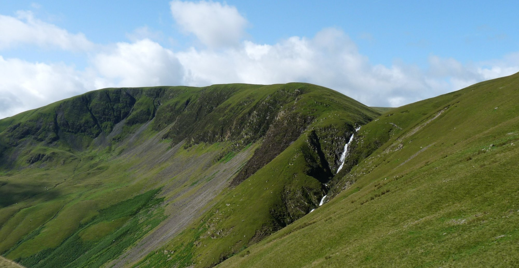 The hugely impressive Cautley Spout