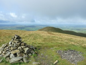 The summit of Fell Head