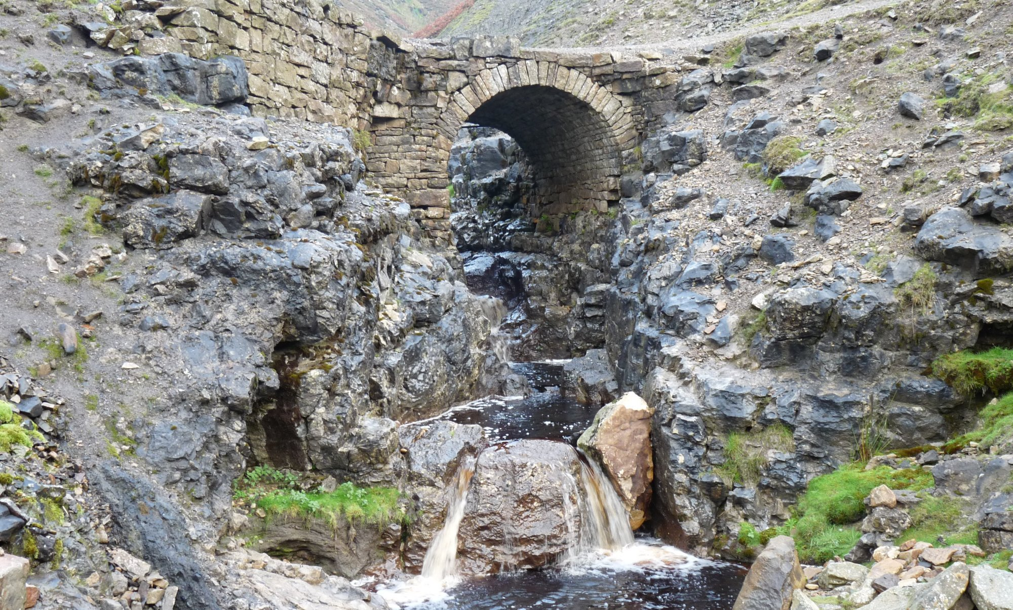 The old bridge over Swinner Gill