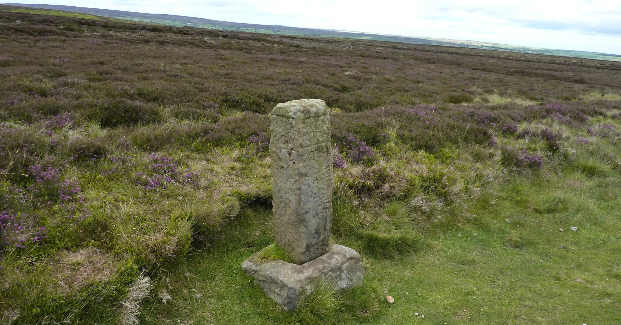 One of the many old boundary and marker stones