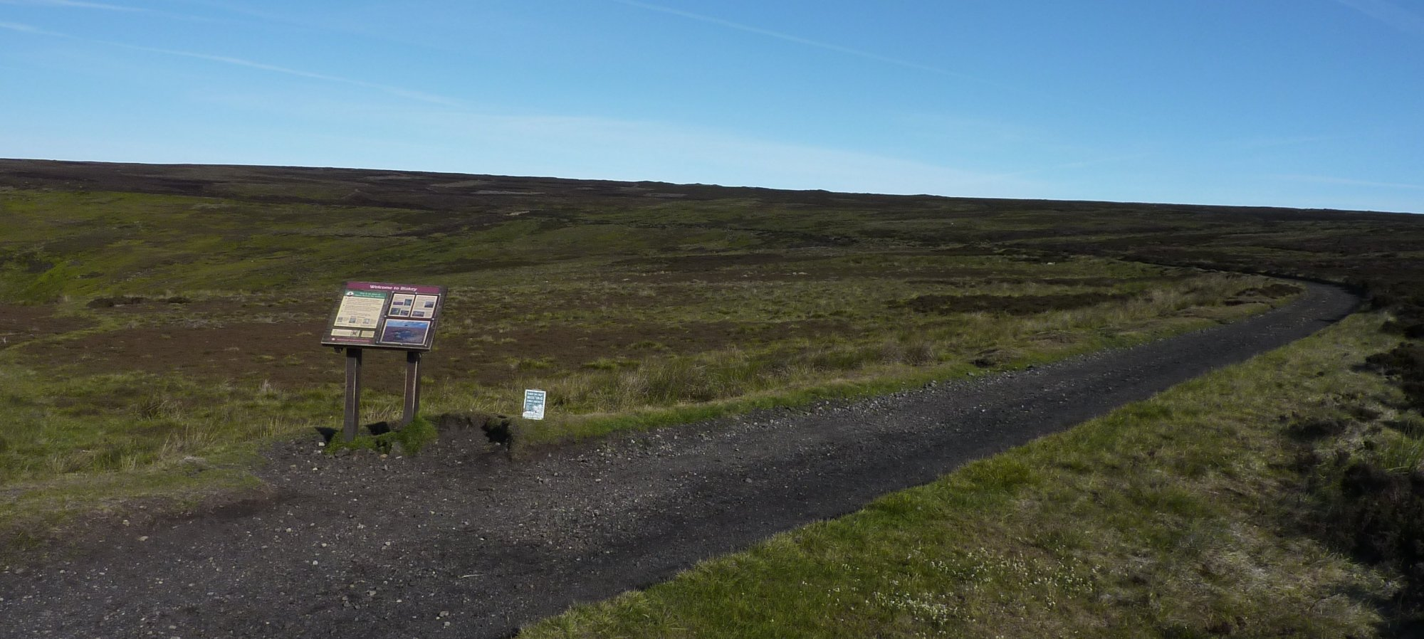 Joining the Rosedale again, just below the Lion Inn