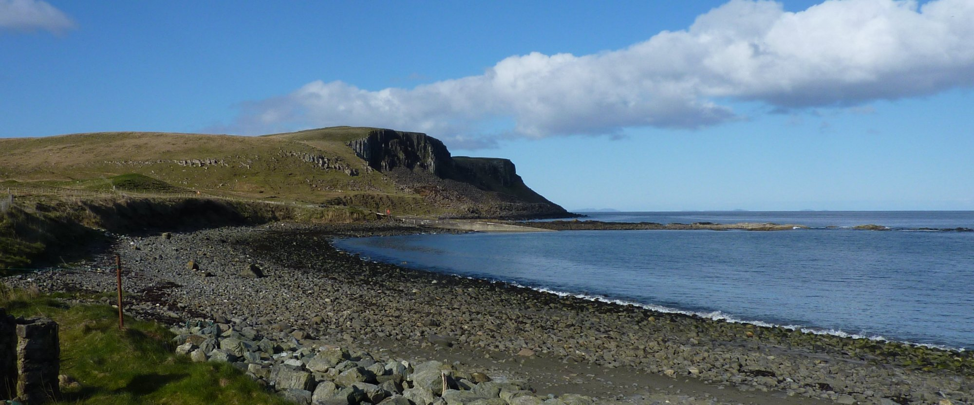 Trotternish coastline on Skye