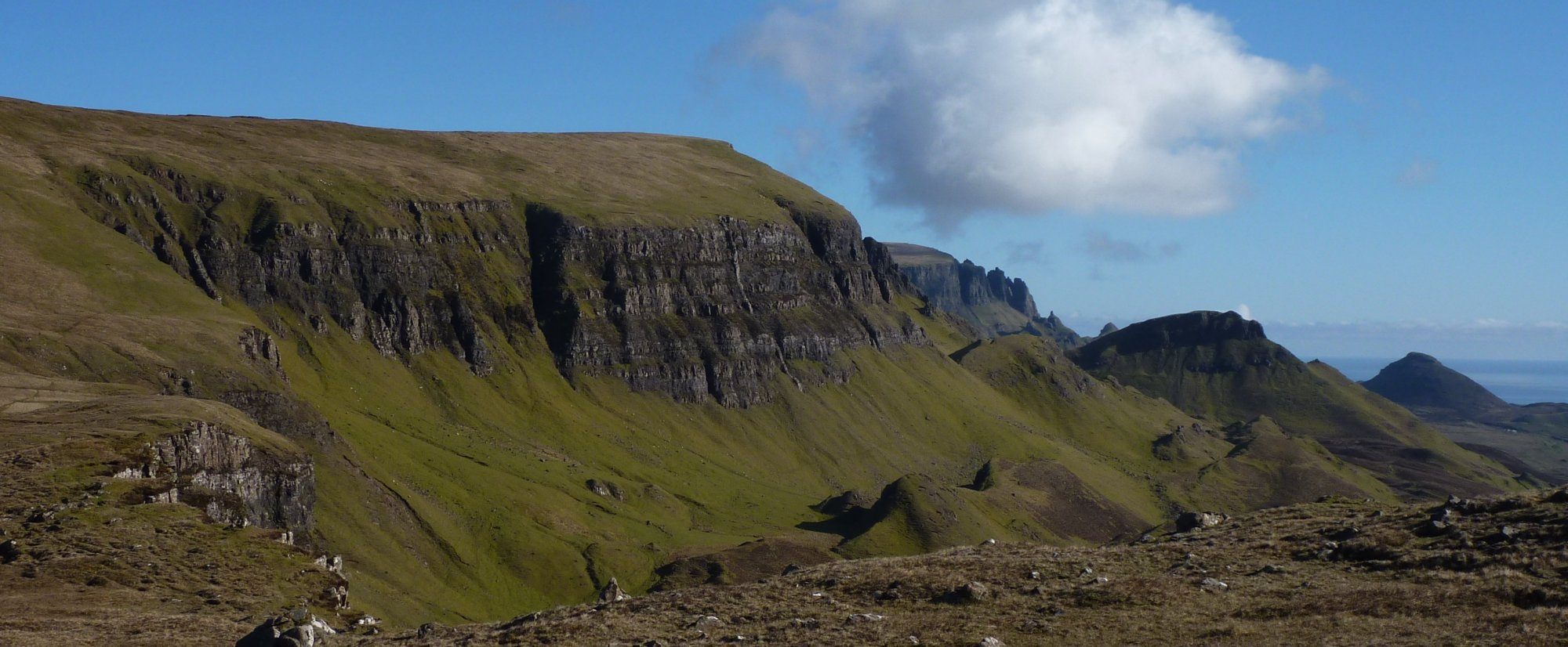 Looking back to Bioda Buidhe
