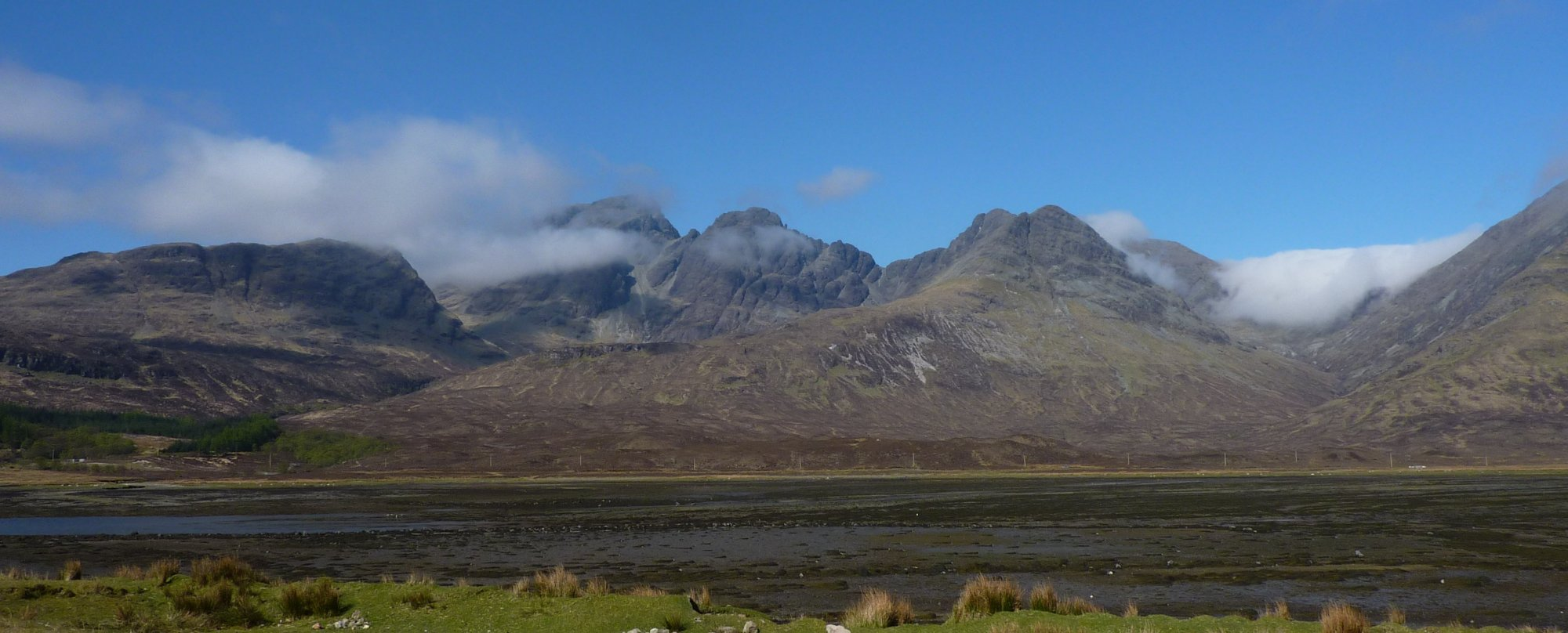 Bla Bheinn from the other side of Loch Slapin, looking even more impressive