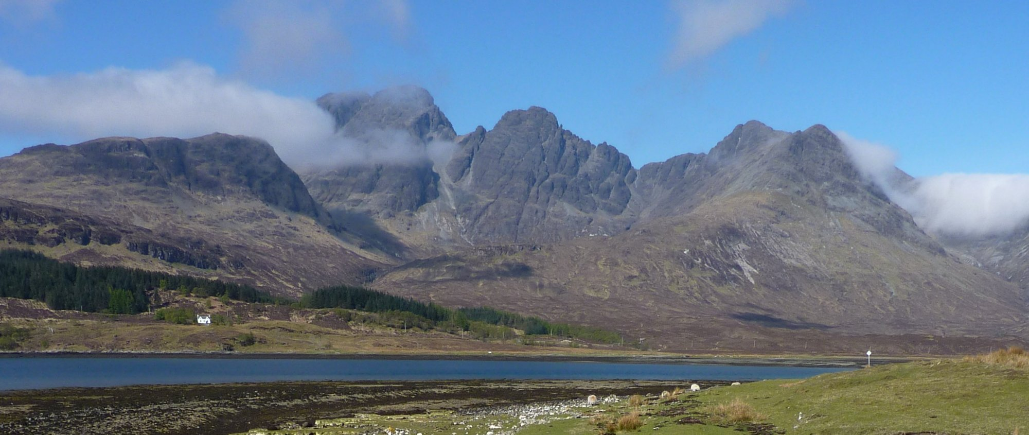 Bla Bheinn from the outskirts of Torrin