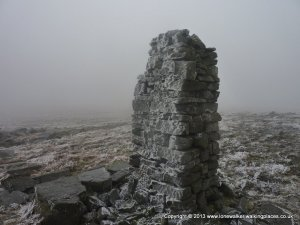 Frozen Cairn on Gregory Band