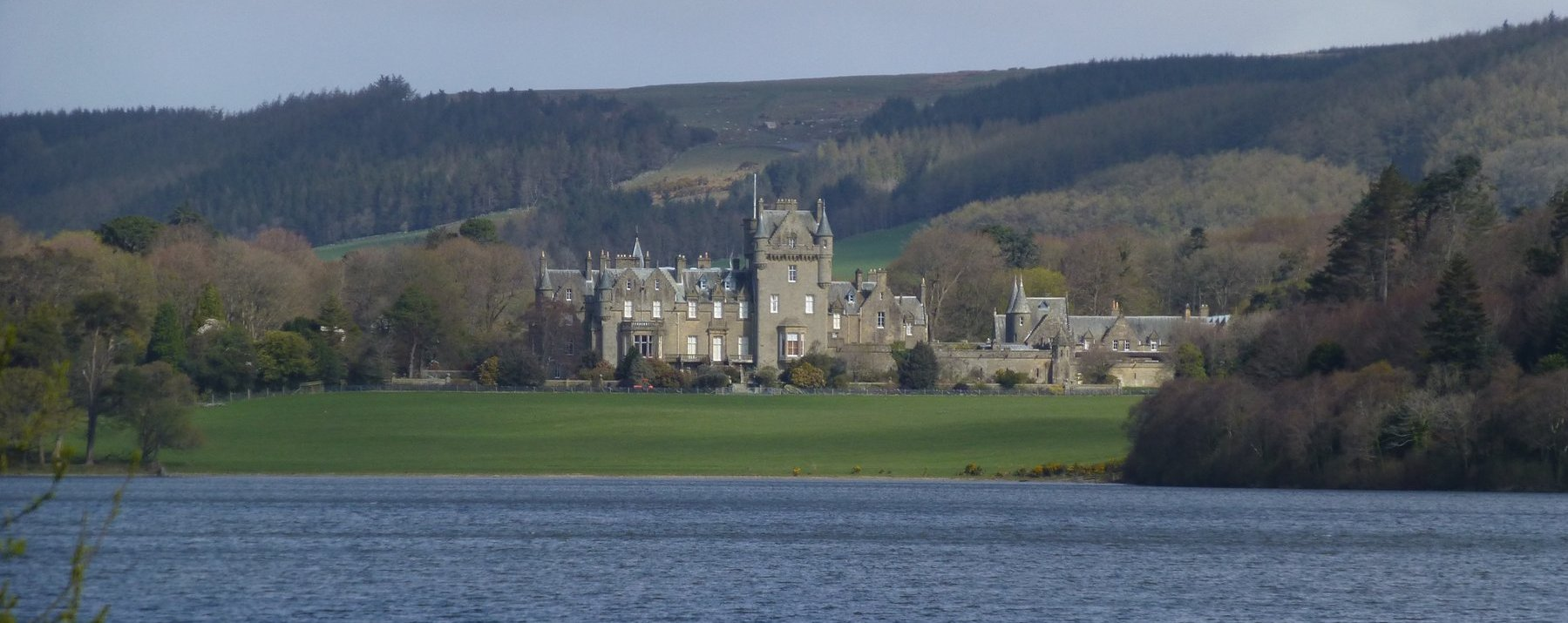 Looking across White Loch to Castle Kennedy