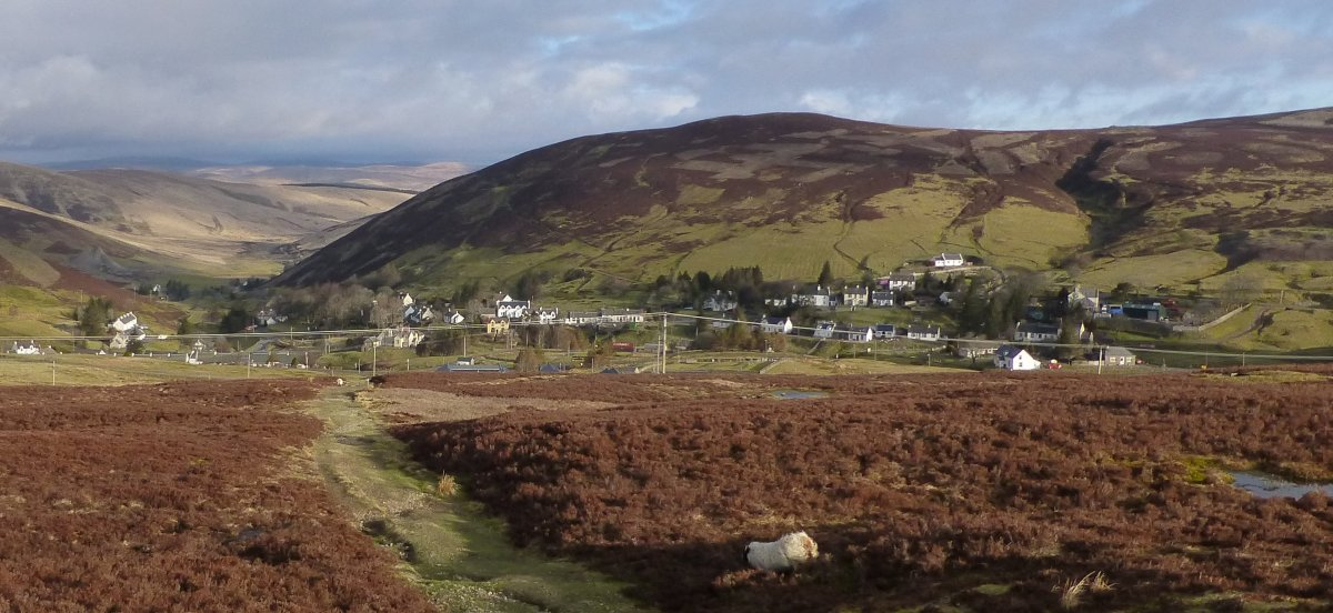 Looking back into Wanlockhead