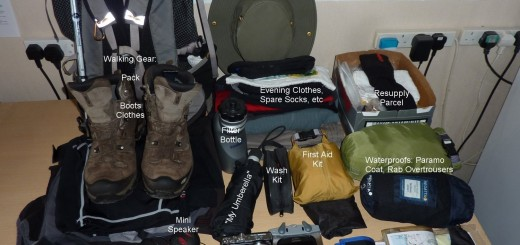 Kit for Southern Upland Way