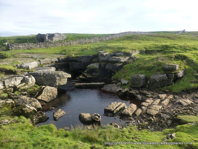 God's Bridge - one of a few in limestone country