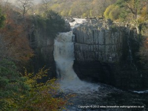 High Force in the River Tees