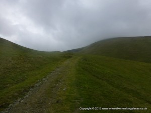 The hills are rolling and green, just like the Howgills and I need to come back and explore them some more