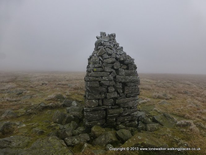 Knock Old Man, cairn on Knock Fell