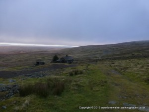 Greg's Hut, still 8 miles to go and running out of daylight