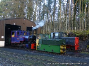 Really cute trains on the South Tynedale Railway