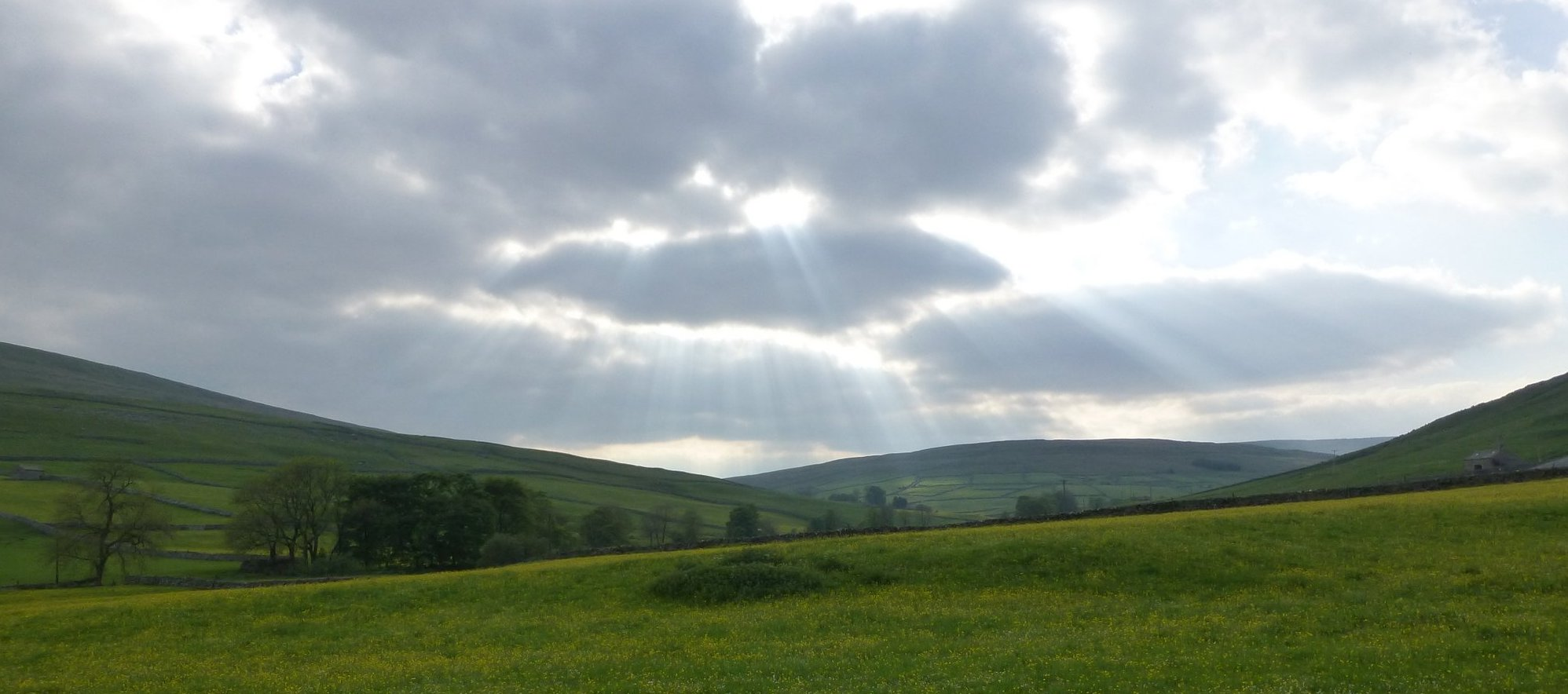 Walking out of Littondale