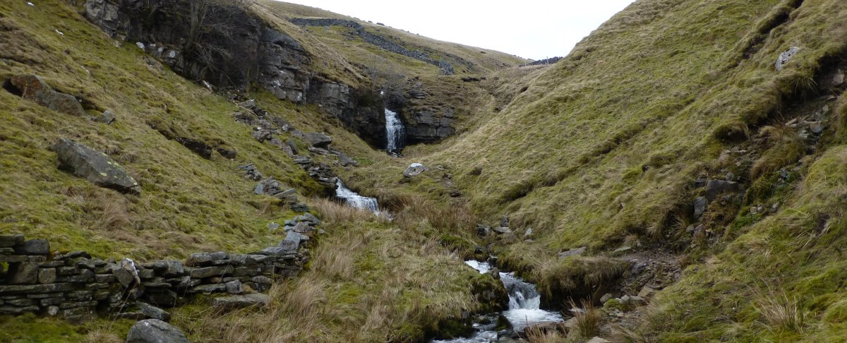 Waterfalls in Buckden Beck