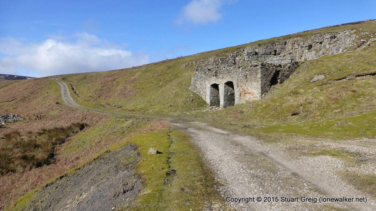 Lime kilns at Routh Level