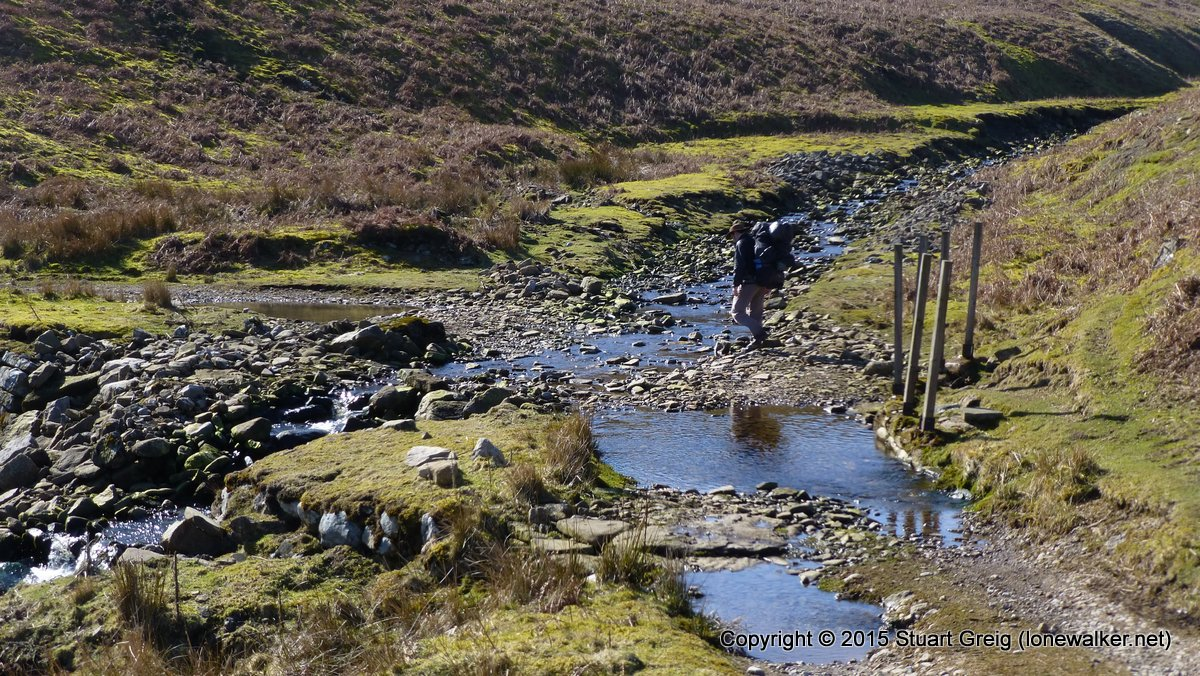 Crossing Little Punchard Gill