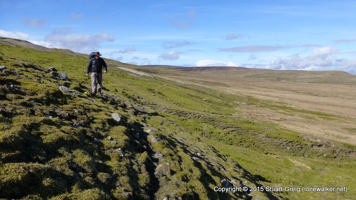 Crossing Danby Lead Level on Whaw Moor