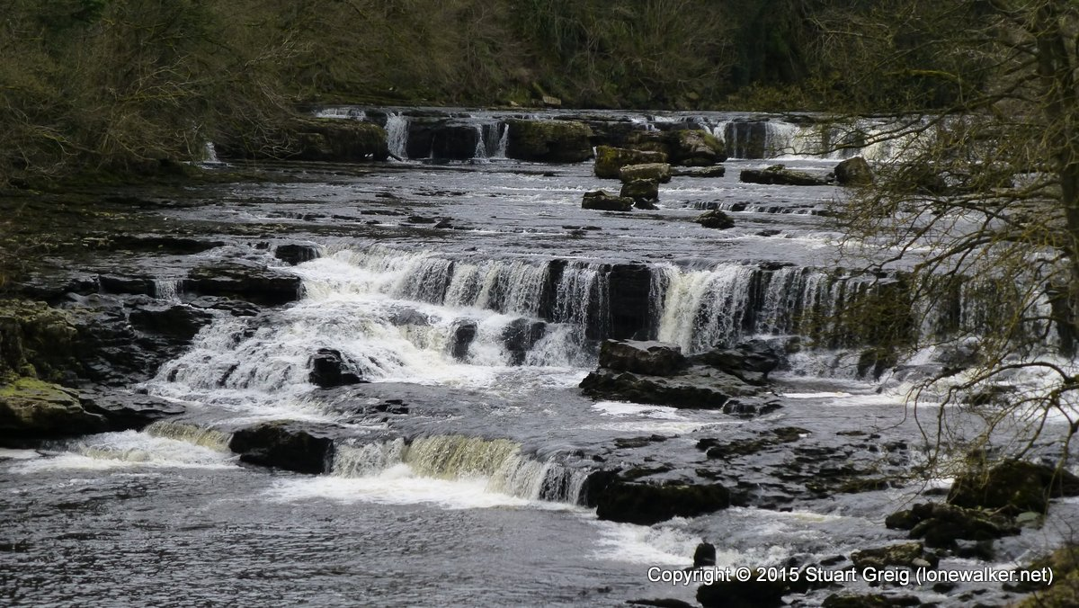 Upper Falls at Aysgarth