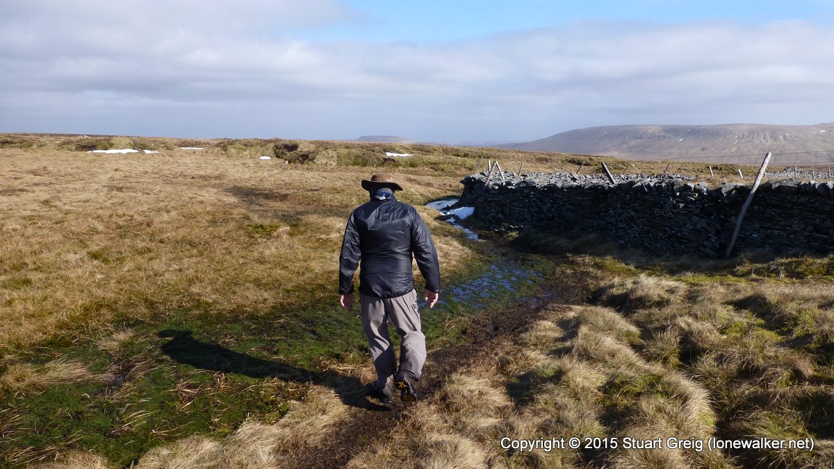 Lots of standing water on the fells at the moment