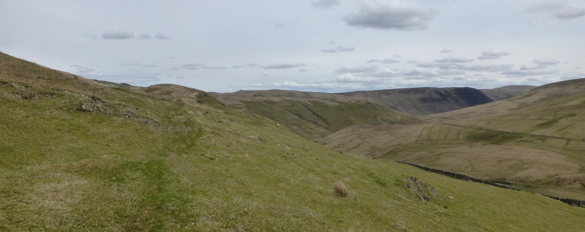 Looking into Nithsdale from Cloud Hill