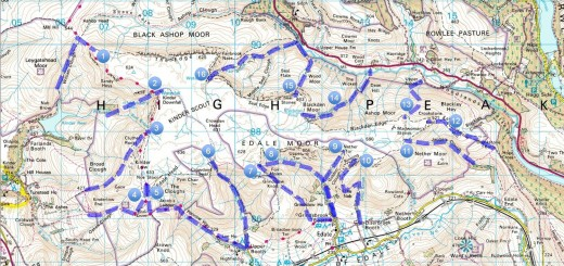 Kinder Scout Ascent Routes