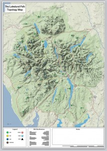 Lakeland Fells Topology Map