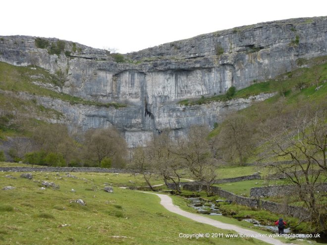 Malham Cove on the Pennine Way