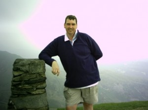 Me at Coniston Old Man trig point