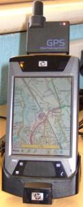 iPAQ hx4700 PDA