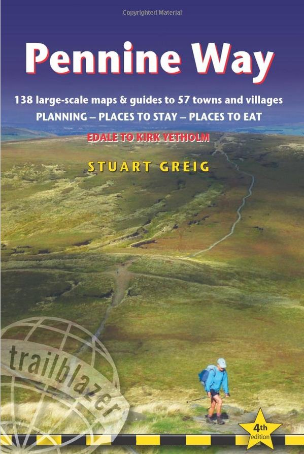 Pennine Way Guide Book – 4th Edition cover